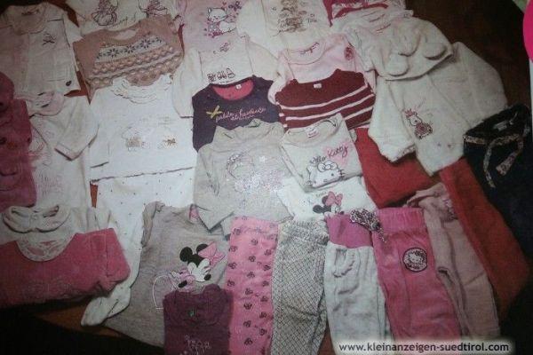Kleiderpacket Mädchen 2-4 Monat