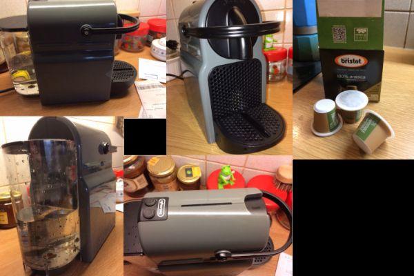 Nespresso Kaffeemaschine für Tabs, Marke DeLonghi