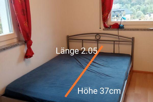 Verkaufe französisches Bett