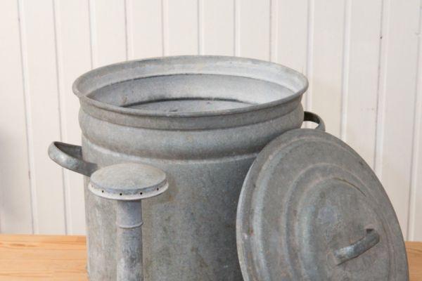 Einweckkessel Waschkessel Zinkkessel