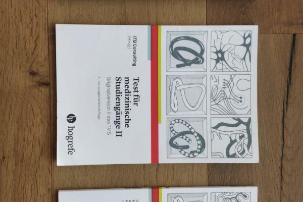 Test für medizinische Studiengänge (TMS), 3 Bände (I, II und III)