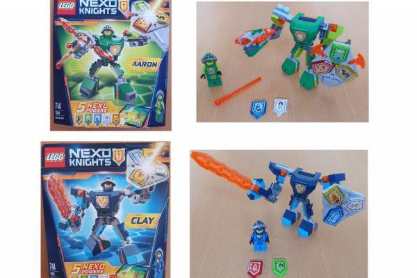Lego Nexo Knights und Bionicle