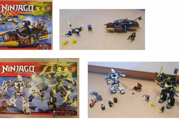 Lego Ninjago Set 2