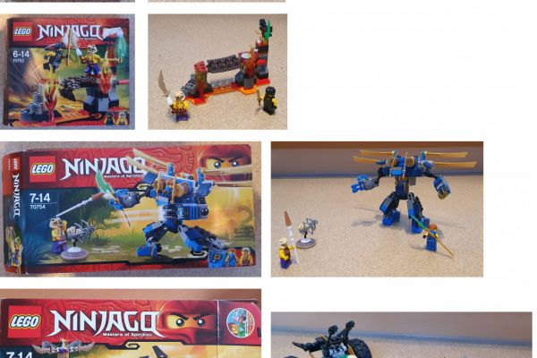 Lego Ninjago Set 5