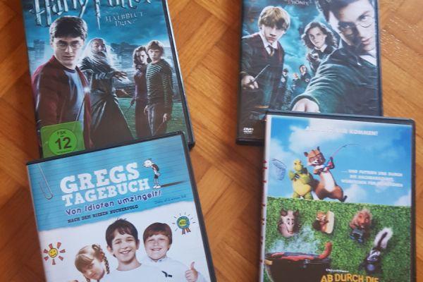 4 verschiedene DVD's