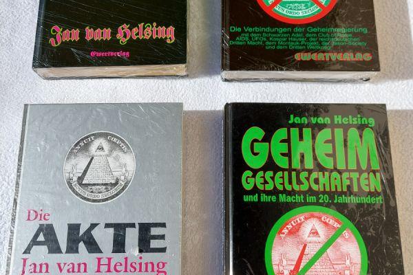 4 neue Bücher - Jan van Helsing