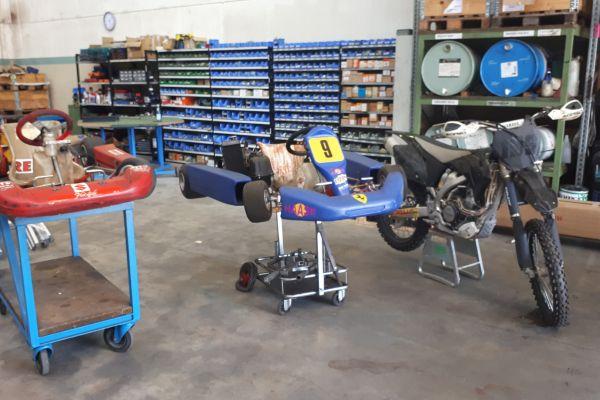 Motocross Yamaha YZ 250F 2009 / Go-kart 125ccm/Gokart 60ccm