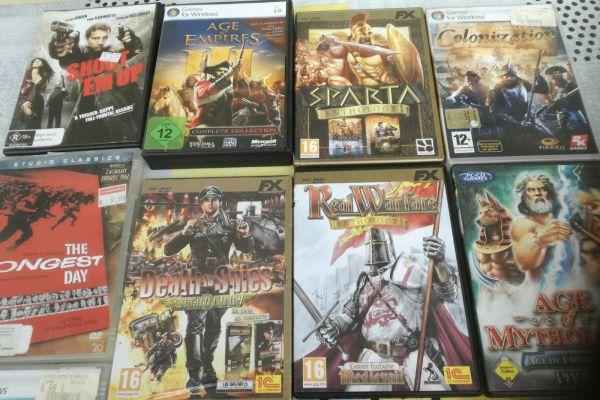 DVD C u. Compiuterspiele