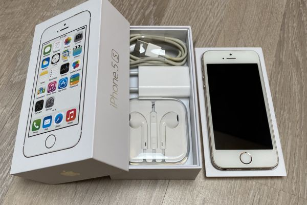 Apple iPhone 5S 16 GB Gold OVP FREI FÜR ALLE NETZE