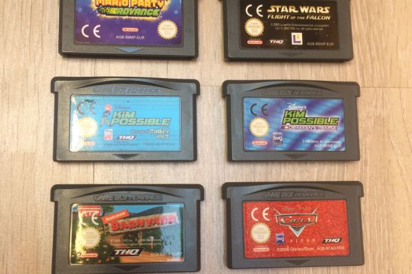 Game Boy Advance / Advance SP Spiele