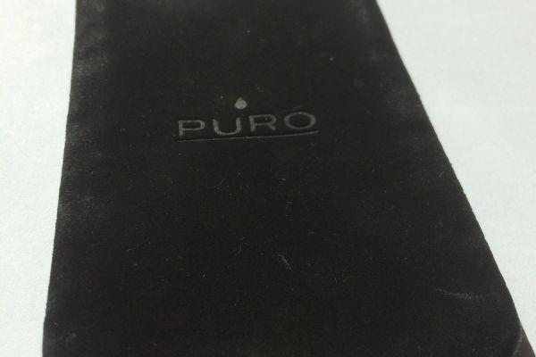 Smartphone Hülle Puro schwarz