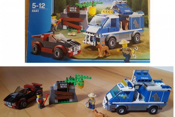 Lego Polizeihundetransporter