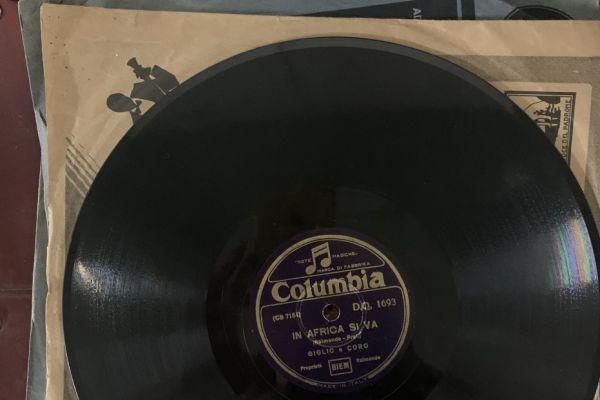 Historische Schallplatten