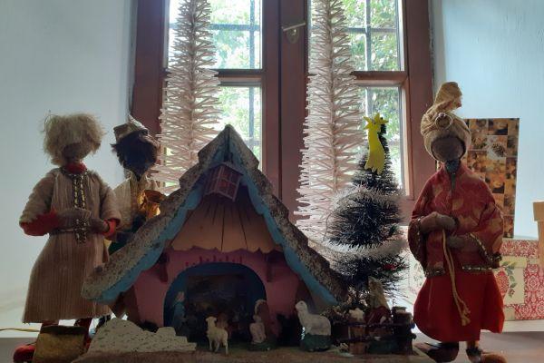Dekoration und Weihnachtdekoration