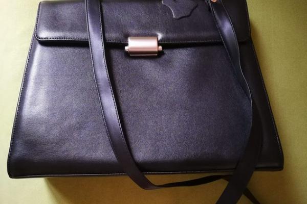 Elegante schwarze Handtasche