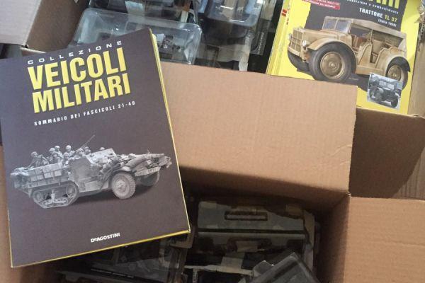 40 Militärfahrzeugen von De Agostini - 1/43
