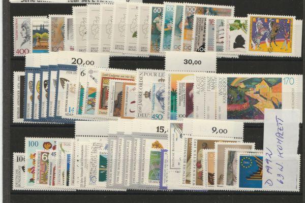 2000 neue Briefmarken