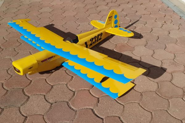 Doppeldecker Modellflieger 1,5m