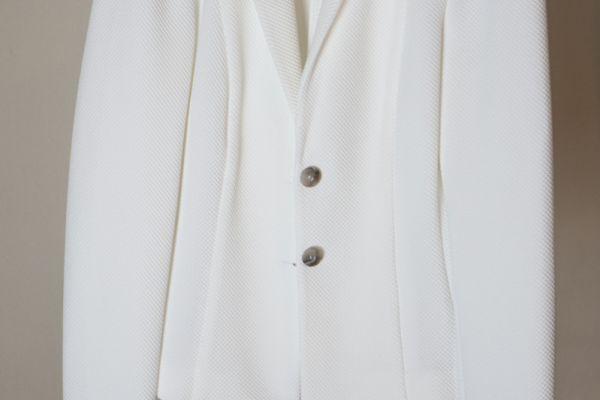 Weißer Blazer (noch nie getragen)