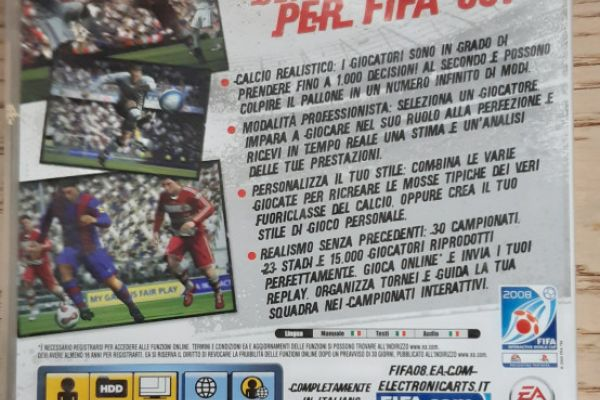 PS3 spiel Fifa 08