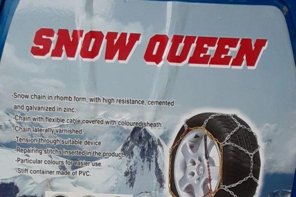 Schneeketten Snow queen (neu) für Autoreifen 195/60 R15