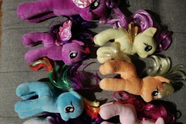 My little pony Plüschtiere