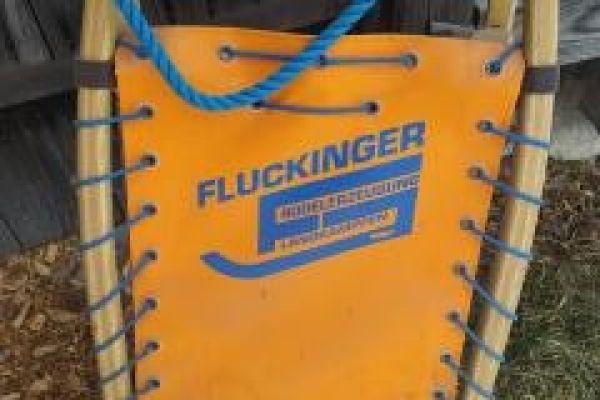 Rennrodel von Fluckinger