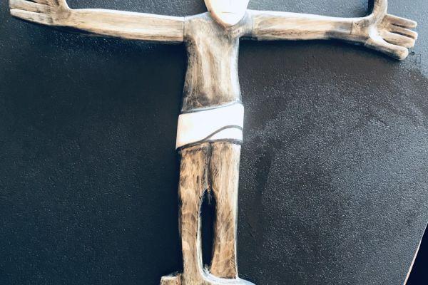 Christus römisch handgeschnitzt