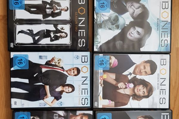 "Dvd Serie ""Bones"""