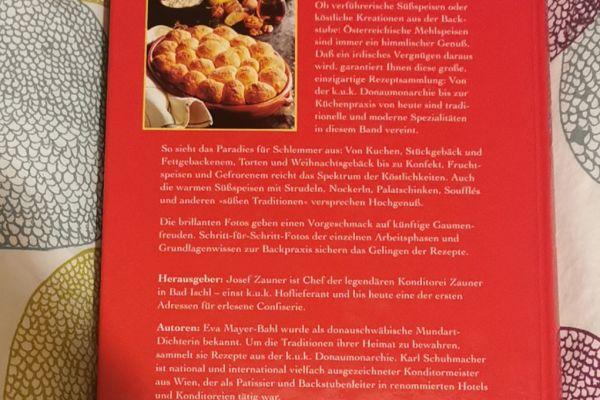 Das große Buch der österreichischen Mehlspeisen