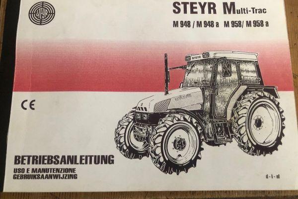 Betriebsanleitung Steyr 948 bis 958
