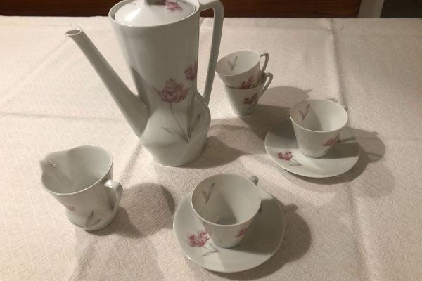 Hutschenreuther 18 CM 14 Porzellan Kaffeeservice