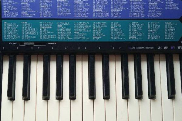 Keyboard (Yamaha) zu verkaufen