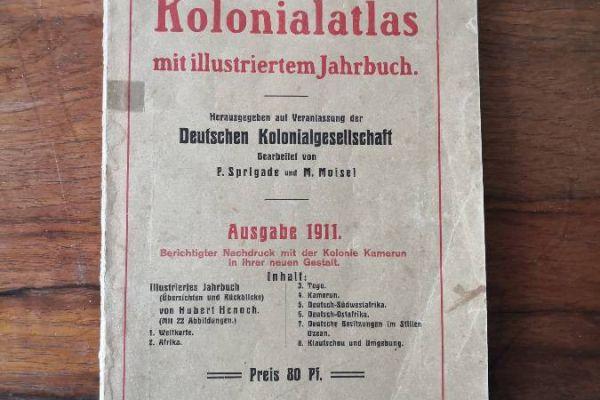 Deutscher Kolonialatlas 1911 + 2 Bücher zum Thema