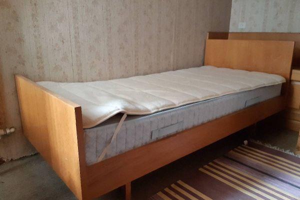 Verkaufe Bett mit Lattenrost