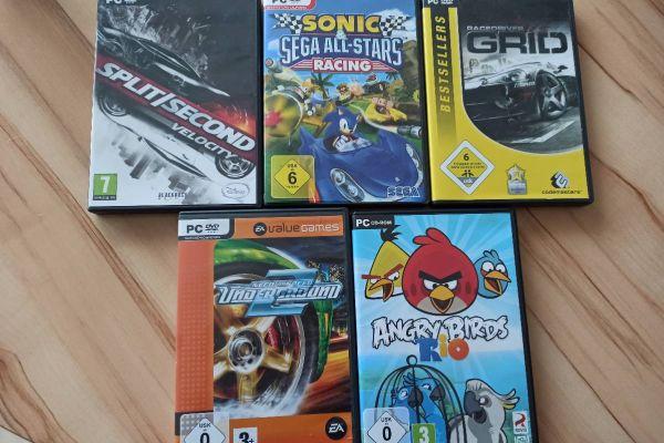 Verschiedene Pc Spiele