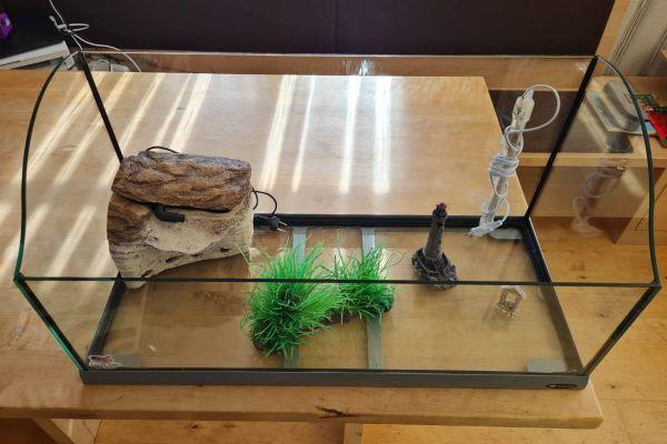 Terrarium für Schildkröten