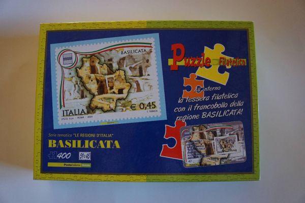 Puzzle Briefmarke Basilicata (400 Teile)
