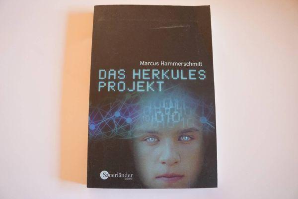 """Buch """"Das Herkulesprojekt"""" von Marcus Hammerschmitt"""