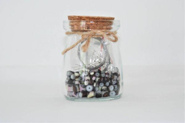 Perlen im Glas