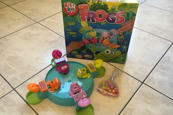 Spiel Frosch
