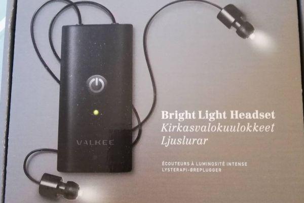 Valkee Lichttherapie Headset