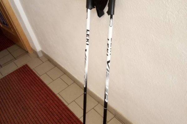 Leki Skistöcke 115cm billig zu verkaufen