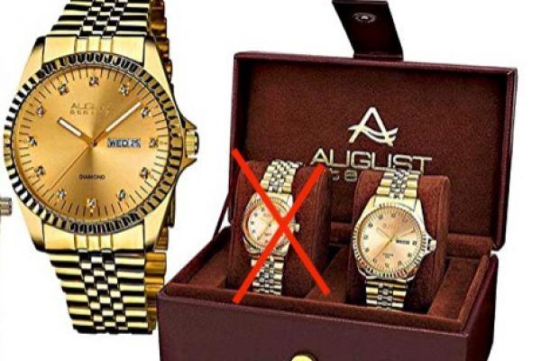 Verkaufe originale August Steiner Uhr