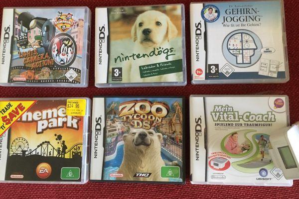 Nitendo DS - Spiele