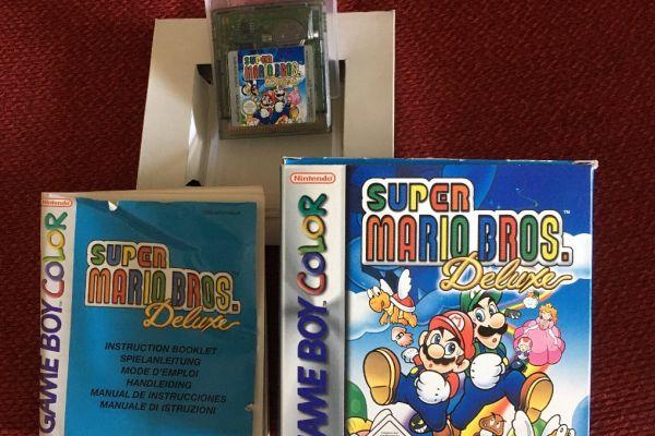 Super Mario Deluxe für Gameboy