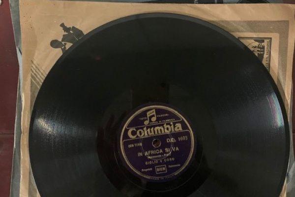 Schallplatten-Sammlerstücke 30er und 40er Jahre
