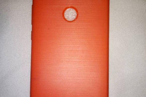 Handy Hülle Orange/Rot  für Huawei P9 LITE (2017 unbenutzt