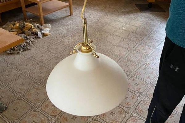 Lampe aus Glas 6 Stück