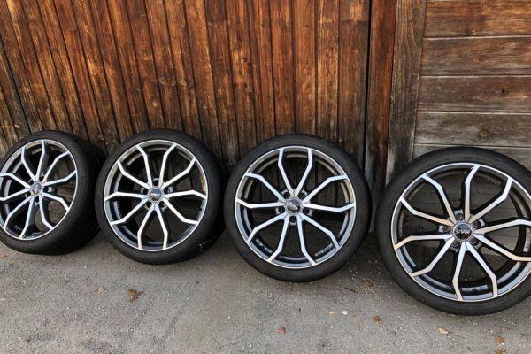 """MAK 19"""" Felgen/cerchi Audi A4+ Sava Reifen/pneumatici"""